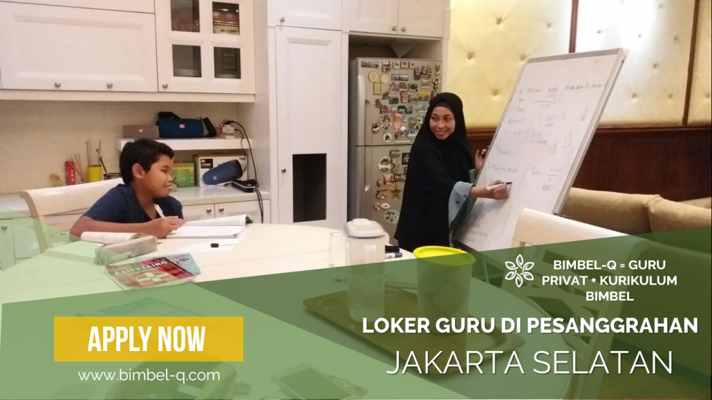LOKER GURU DI PESANGGRAHAN JAKARTA SELATAN : INFO LOKER BAHASA INGGRIS 081218857007