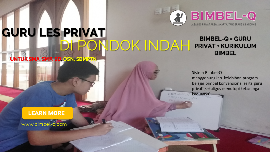 LES PRIVAT PONDOK INDAH JAKARTA SELATAN