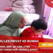 GURU LES PRIVAT DI TAMAN SARI JAKARTA BARAT : INFO BIMBEL PRIVAT