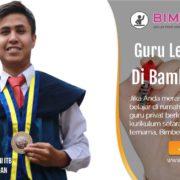 GURU LES PRIVAT DI BAMBU APUS JAKARTA TIMUR : INFO BIMBEL PRIVAT / SEMI PRIVAT