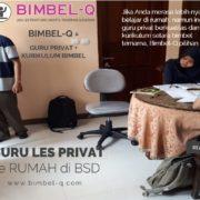 GURU LES PRIVAT DI BSD TANGERANG SELATAN : INFO BIMBEL PRIVAT / SEMI PRIVAT