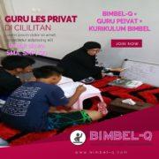 GURU LES PRIVAT DI CILILITAN JAKARTA TIMUR : INFO BIMBEL PRIVAT / SEMI PRIVAT