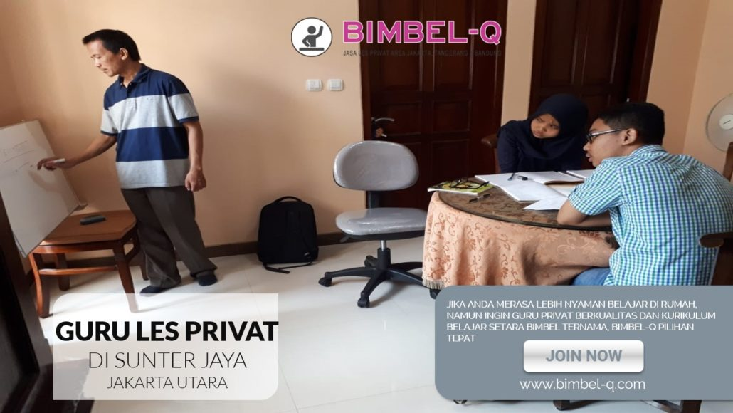 GURU LES PRIVAT DI SUNTER JAYA JAKARTA UTARA : INFO BIMBEL PRIVAT / SEMI PRIVAT