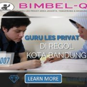 GURU LES PRIVAT DI REGOL KOTA BANDUNG : INFO BIMBEL PRVAT / SEMI PRIVAT