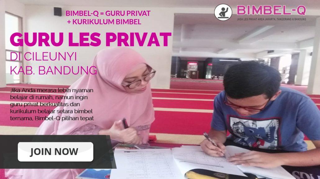 GURU LES PRIVAT DI CILEUNYI KABUPATEN BANDUNG : INFO BIMBEL PRIVAT / SEMI PRIVAT