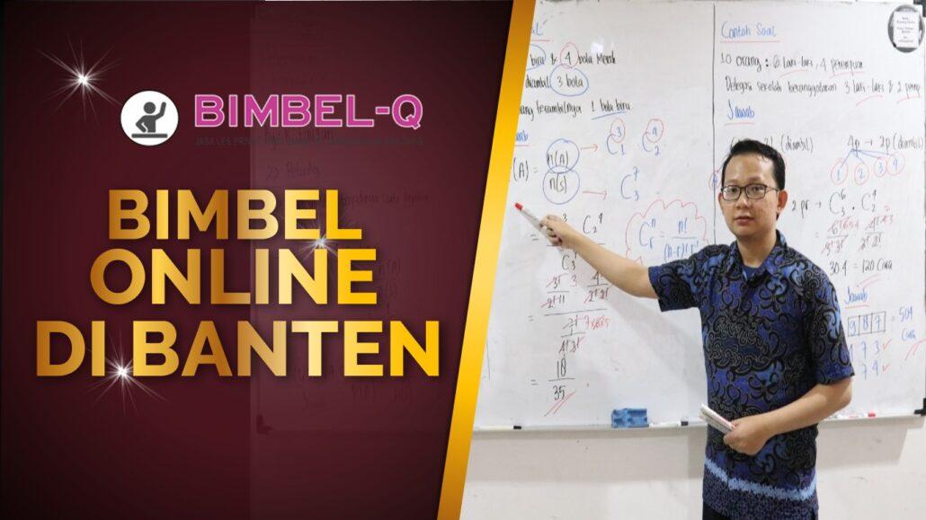 BIMBEL ONLINE DI BANTEN 081218857007