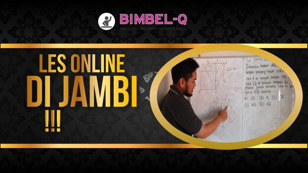 LES ONLINE DI JAMBI 081218857007