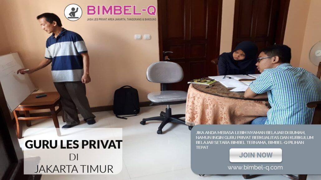 GURU LES PRIVAT DI JAKARTA TIMUR
