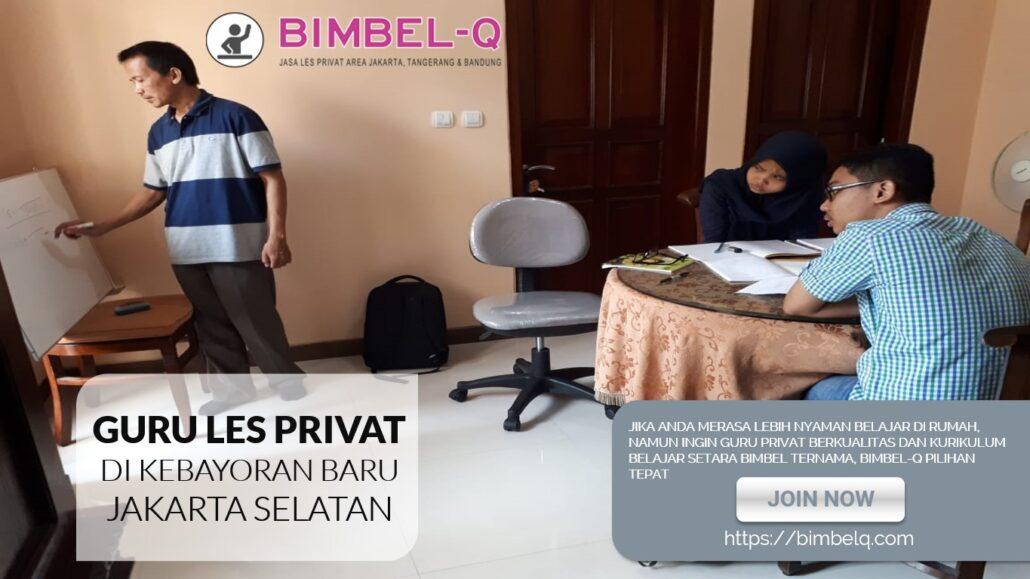 LES PRIVAT DI KEBAYORAN BARU JAKARTA SELATAN